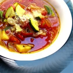 Quick Italian Vegetable Soup Hezzy_tant_Cook