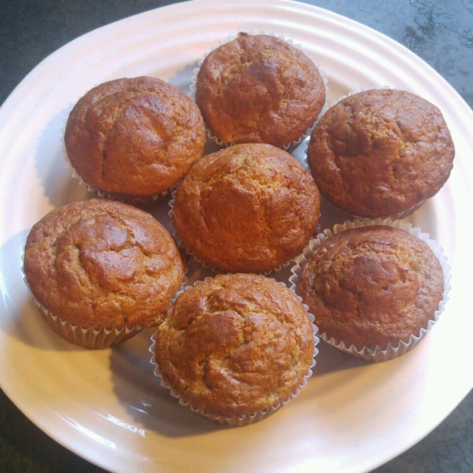 Gluten-Free Banana Walnut Chia Muffins Amanda Gray
