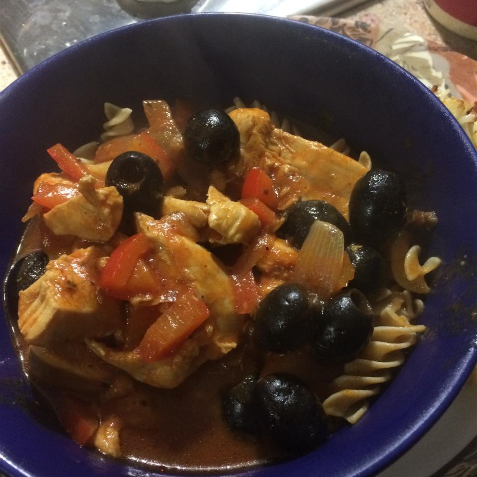 Easy Chicken Veracruz