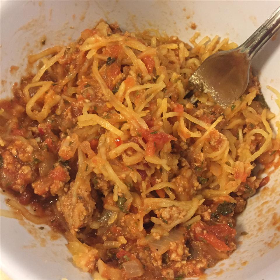 Spicy Spaghetti Squash