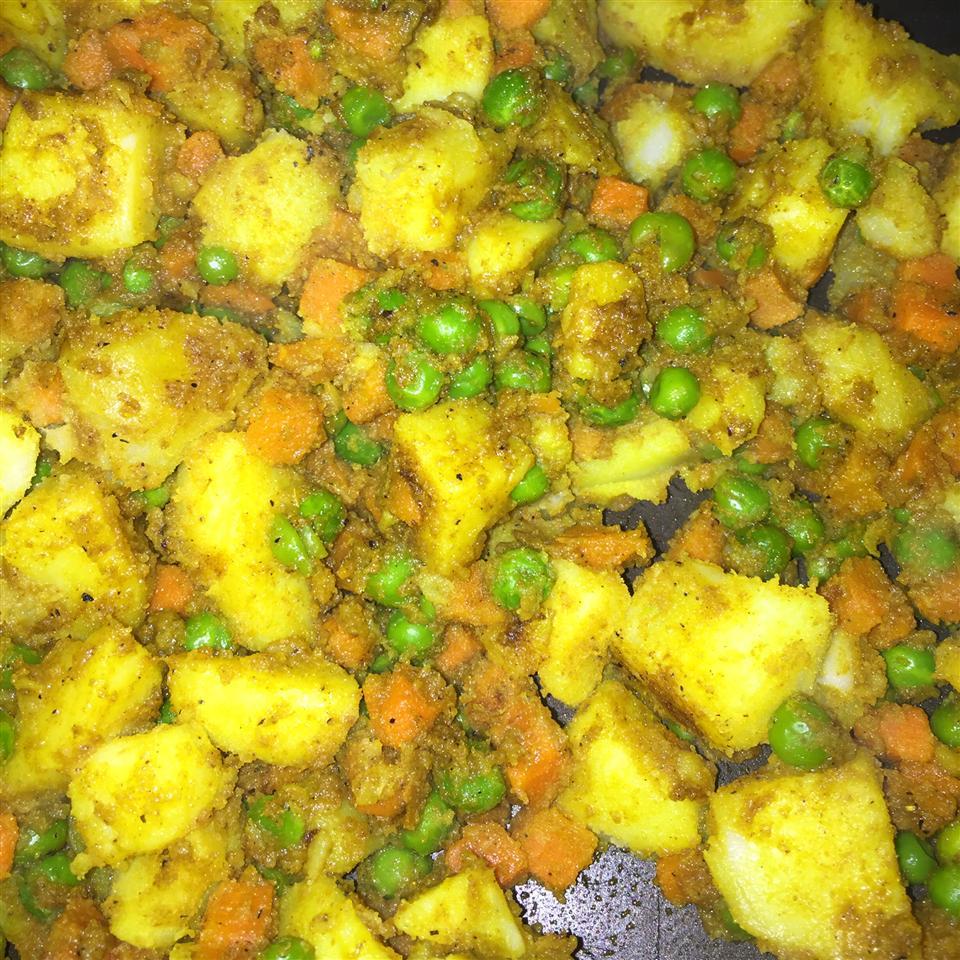 Curried Cumin Potatoes meloney13