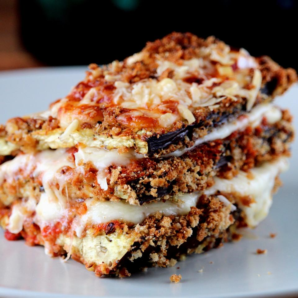 Eggplant Parmesan - Gluten-Free