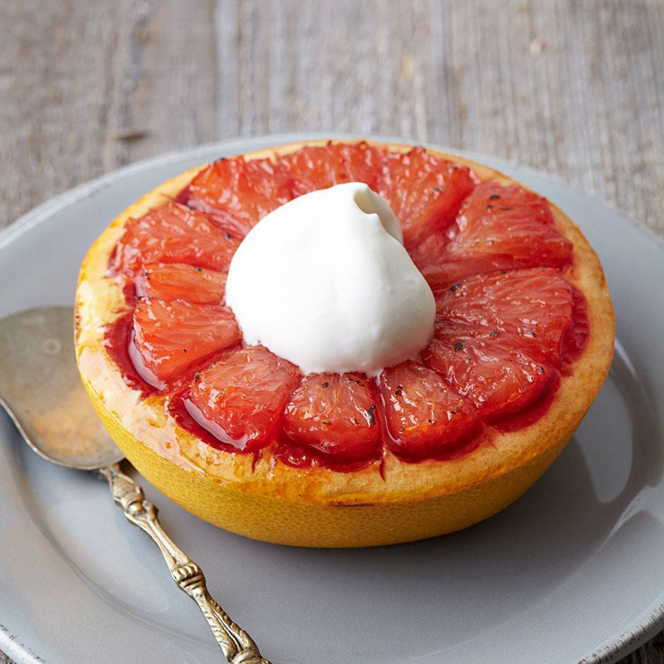 Brown Sugar Broiled Grapefruit EatingWell Test Kitchen