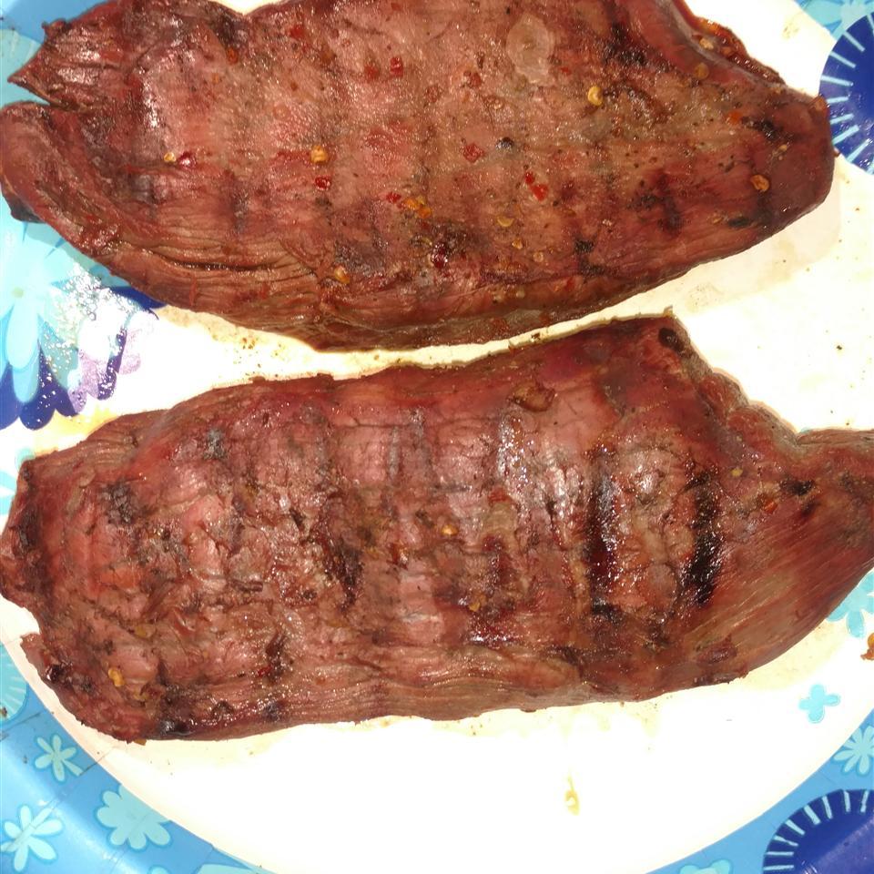 Emily's Marinated Venison Steaks Travis