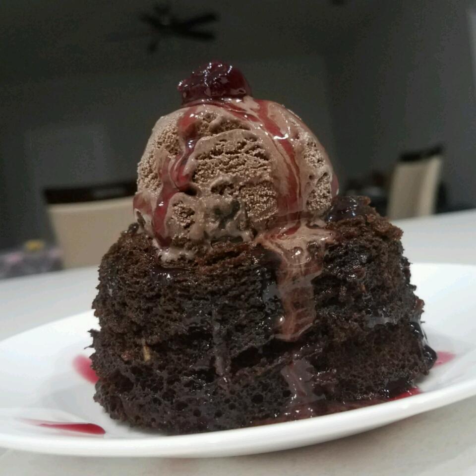 Microwave Chocolate Mug Cake Kat101