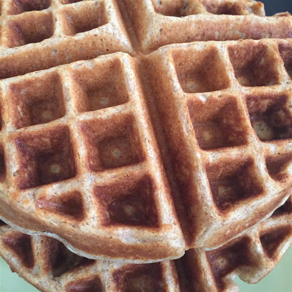 Tender and Easy Buttermilk Waffles Lisa Hopkins