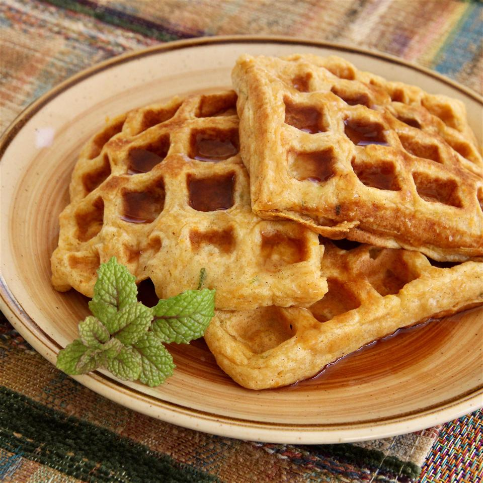 Sweet Potato Waffles lutzflcat