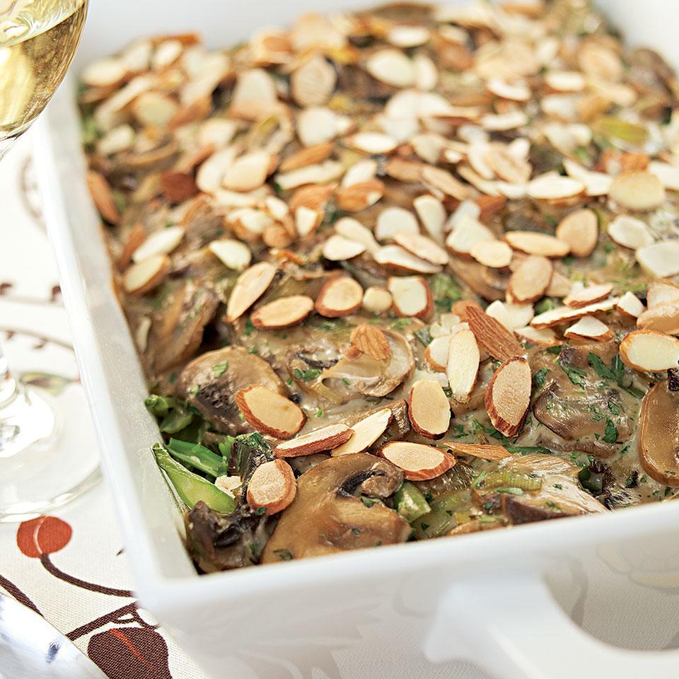 Chicken, Mushroom & Wild Rice Casserole Jessie Price