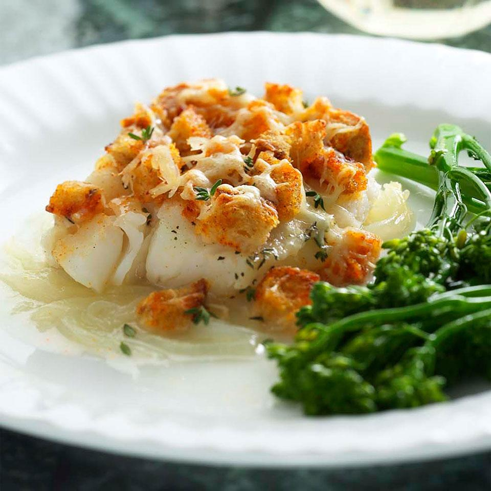 Baked Cod Casserole EatingWell Test Kitchen