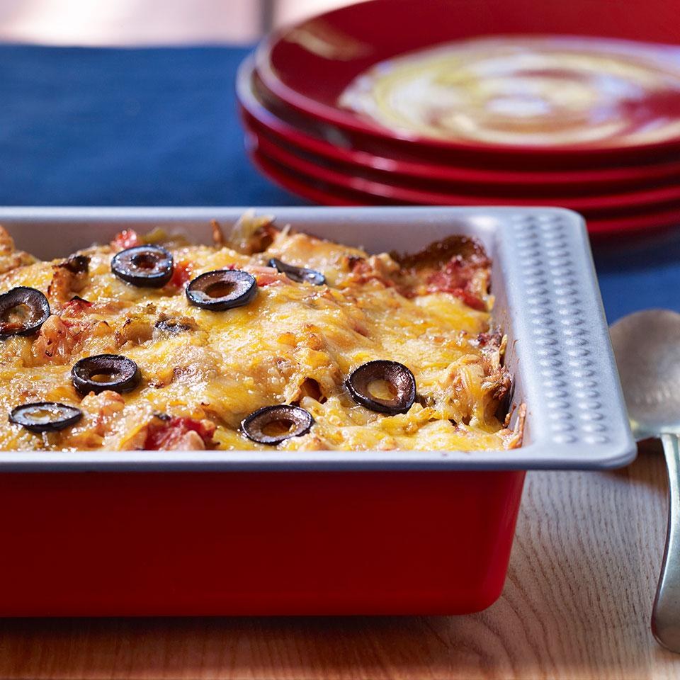 EatingWell King Ranch Casserole Carolyn Malcoun