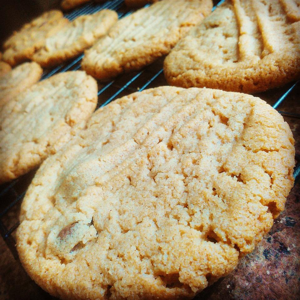 Flourless Peanut Butter Cookies Chef V