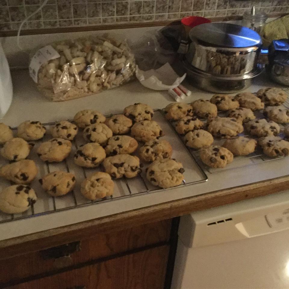 Chewy Jumbo Chocolate Chip Cookies Riley Kabatoff