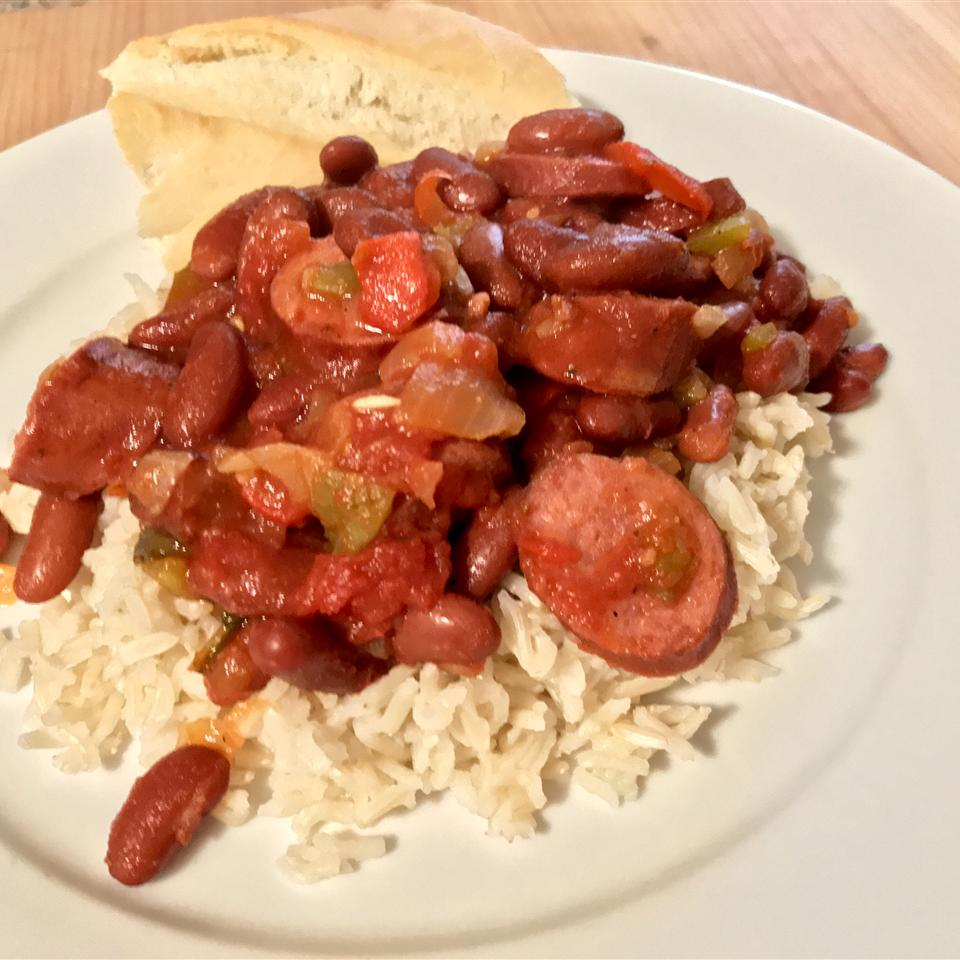 Easy Red Beans and Rice BaltimoreTom