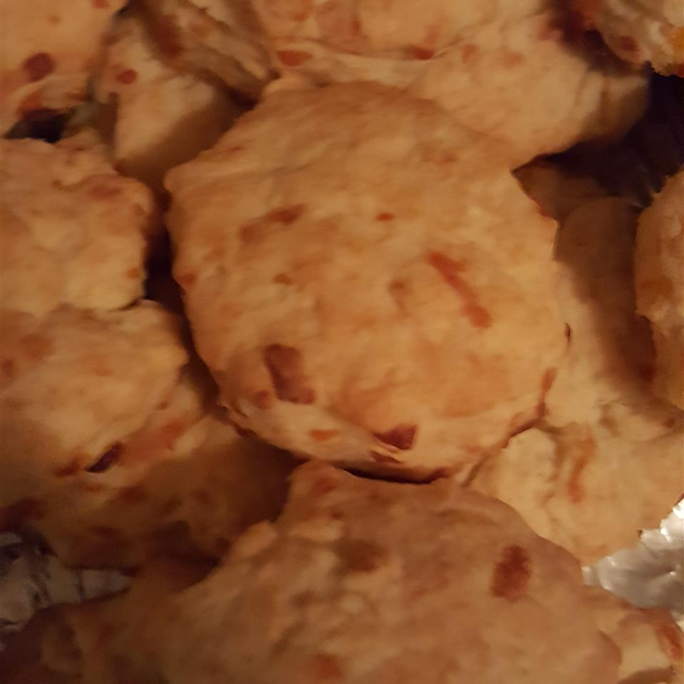 Cheese Drop Biscuits Desiree Wolf