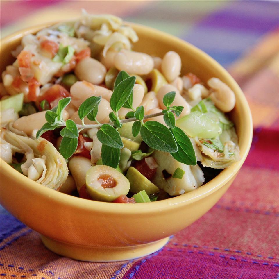 Cannellini Bean and Artichoke Salad