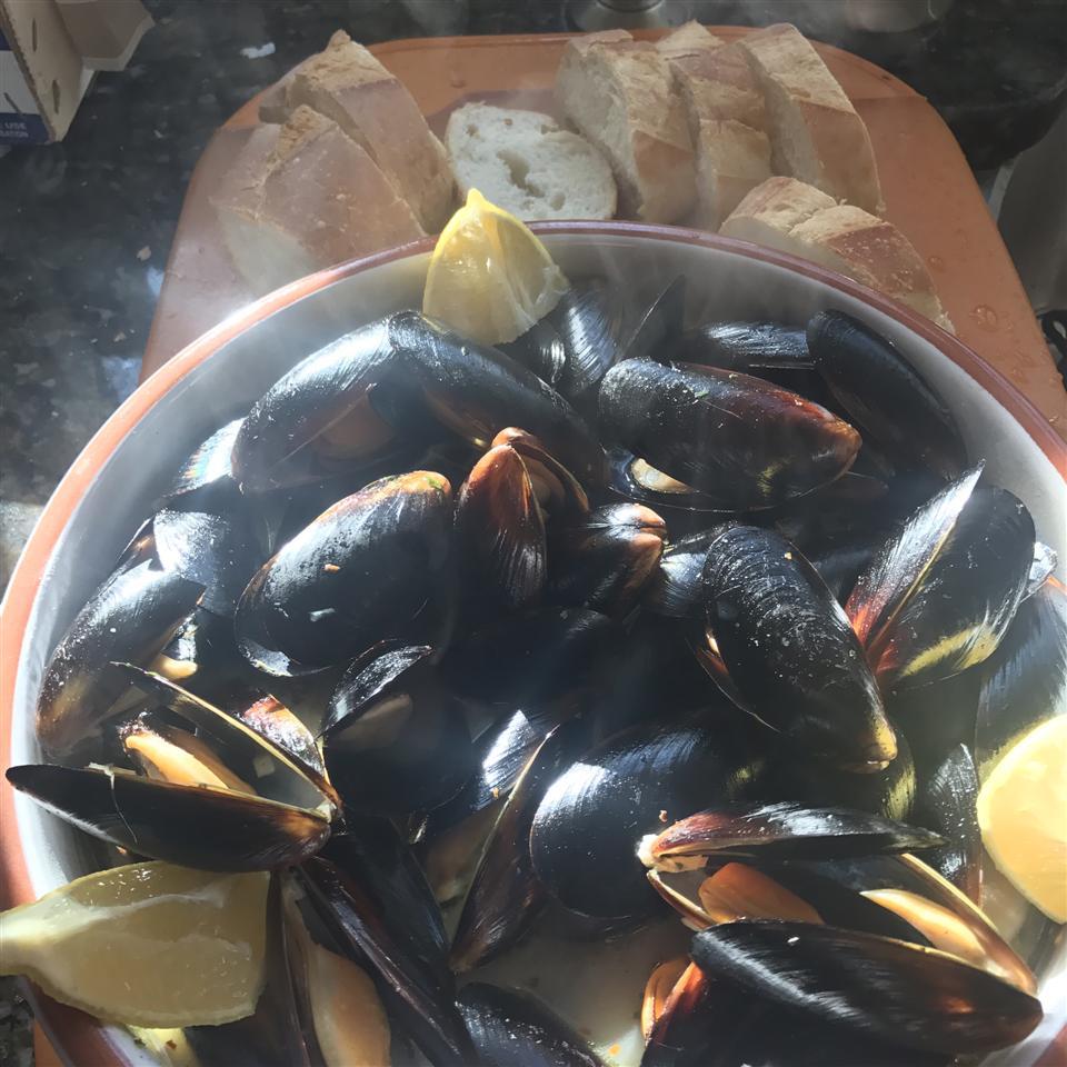 Drunken Mussels John Davis