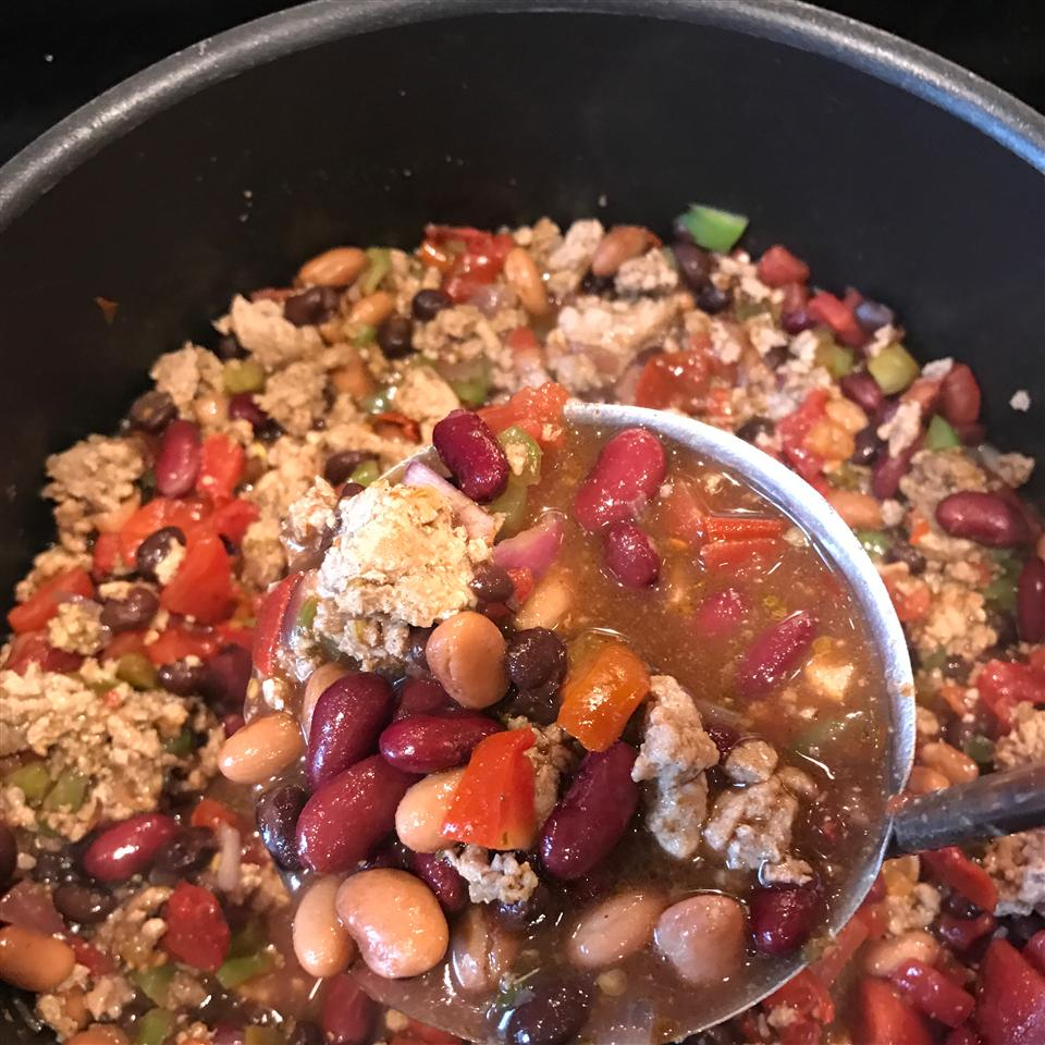 Chili With Turkey and Beans Erika Robertson