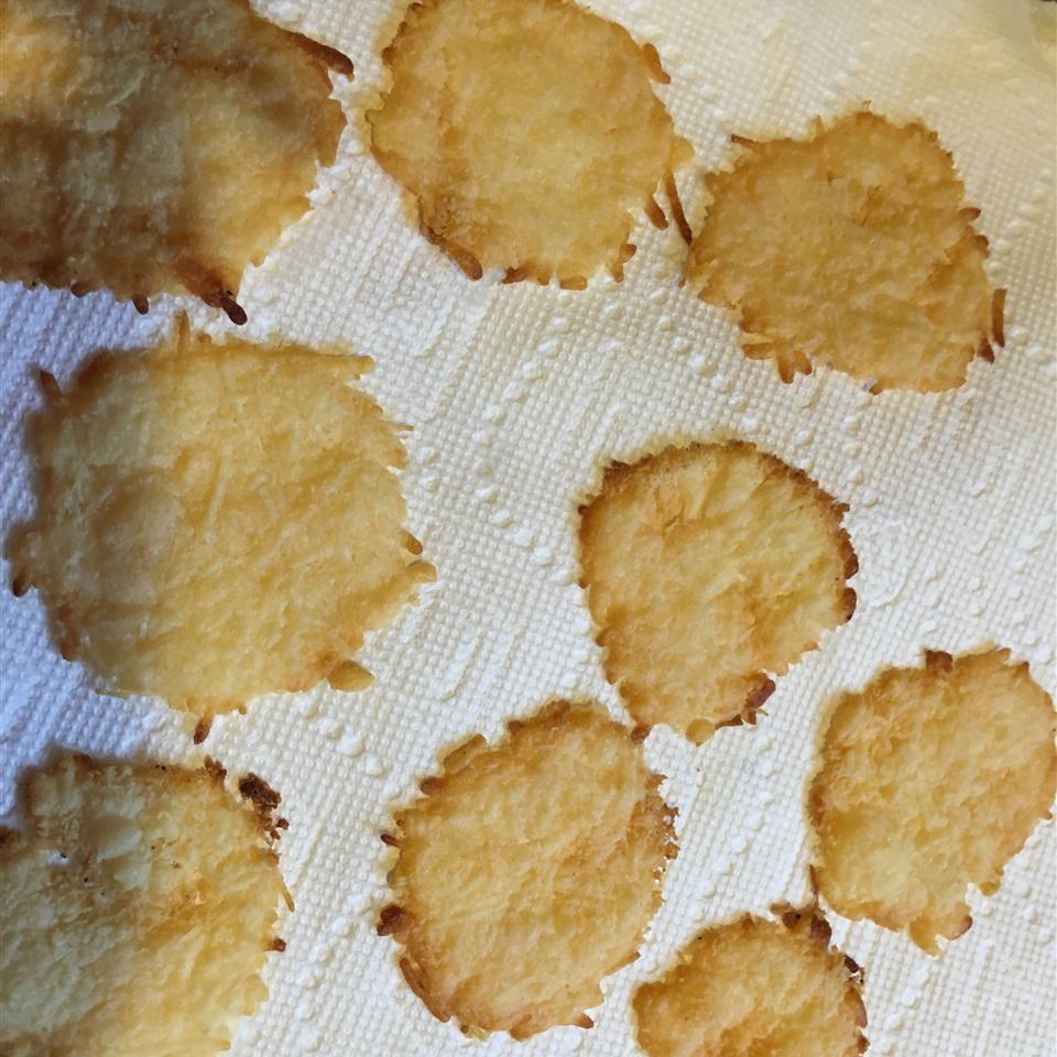 Parmesan Thyme Crisps jhill