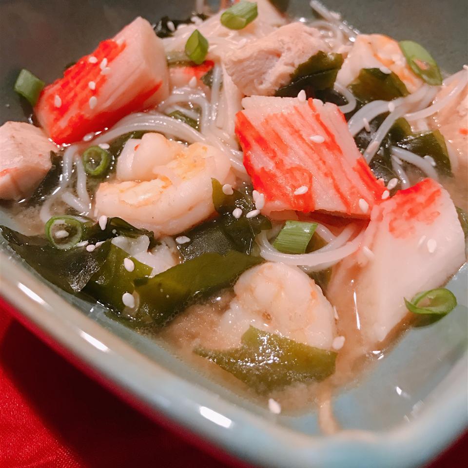 Shrimp and Chicken Miso Ramen