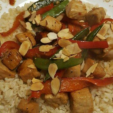 pork and pepper stir fry recipe