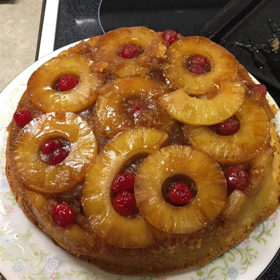 Pineapple Upside-Down Cake VII