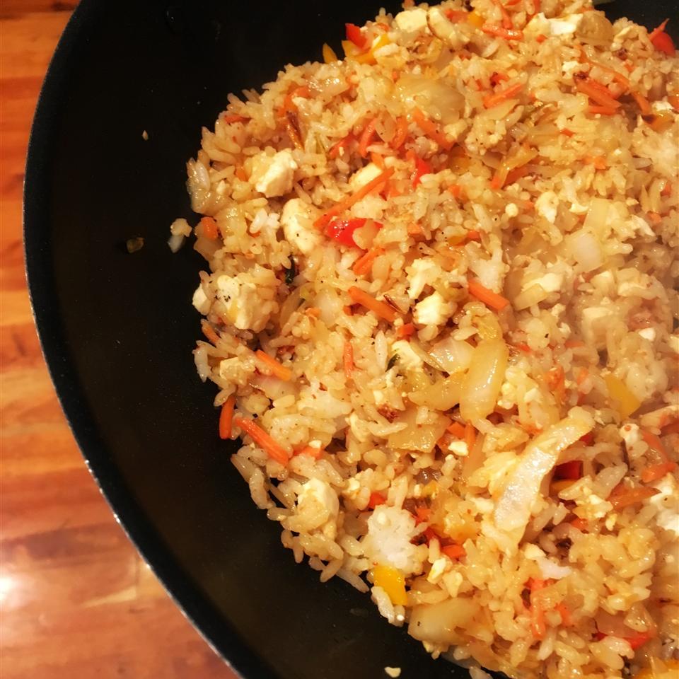 Vegan Fried Rice with Tofu Diana71