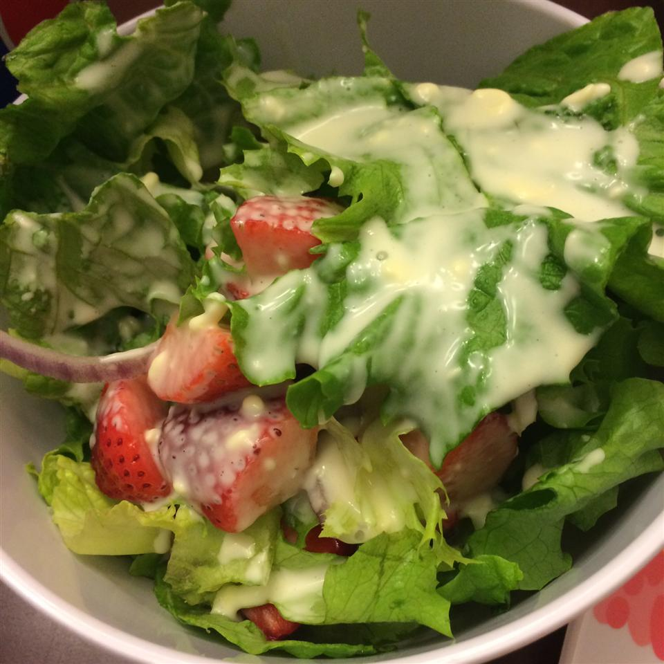 Chelsey's Strawberry Salad with Poppy Seed Dressing Chelsey Carr