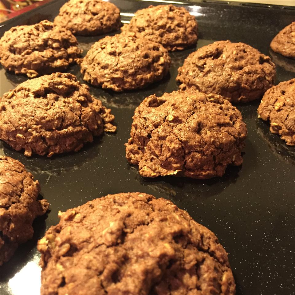 Chocolate Oatmeal Chocolate Chips Cookies Lilija