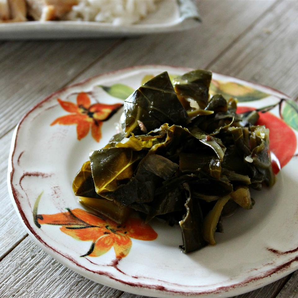Eat Them Right Out of the Pot  Vegetarian Collard Greens Diana71