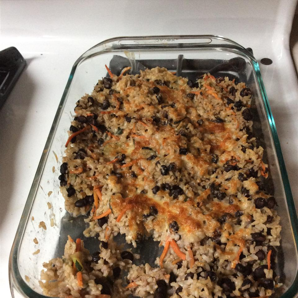 Brown Rice and Black Bean Casserole jaye210