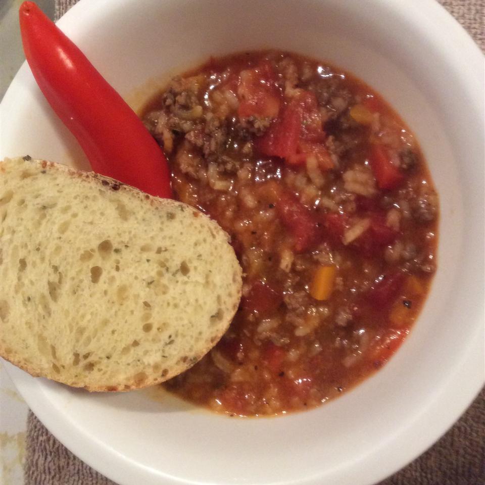 Stuffed Pepper Soup IV
