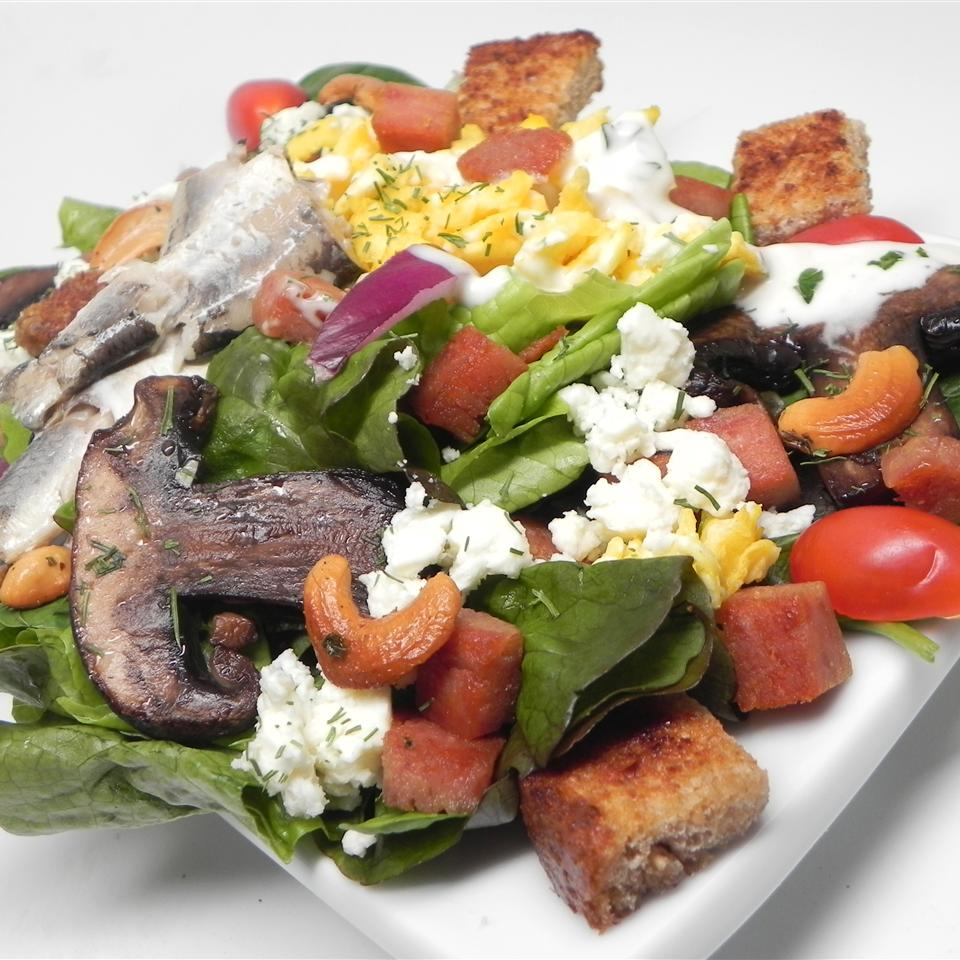 Spam™-a-licious Not-So-Caesar Salad Jemma