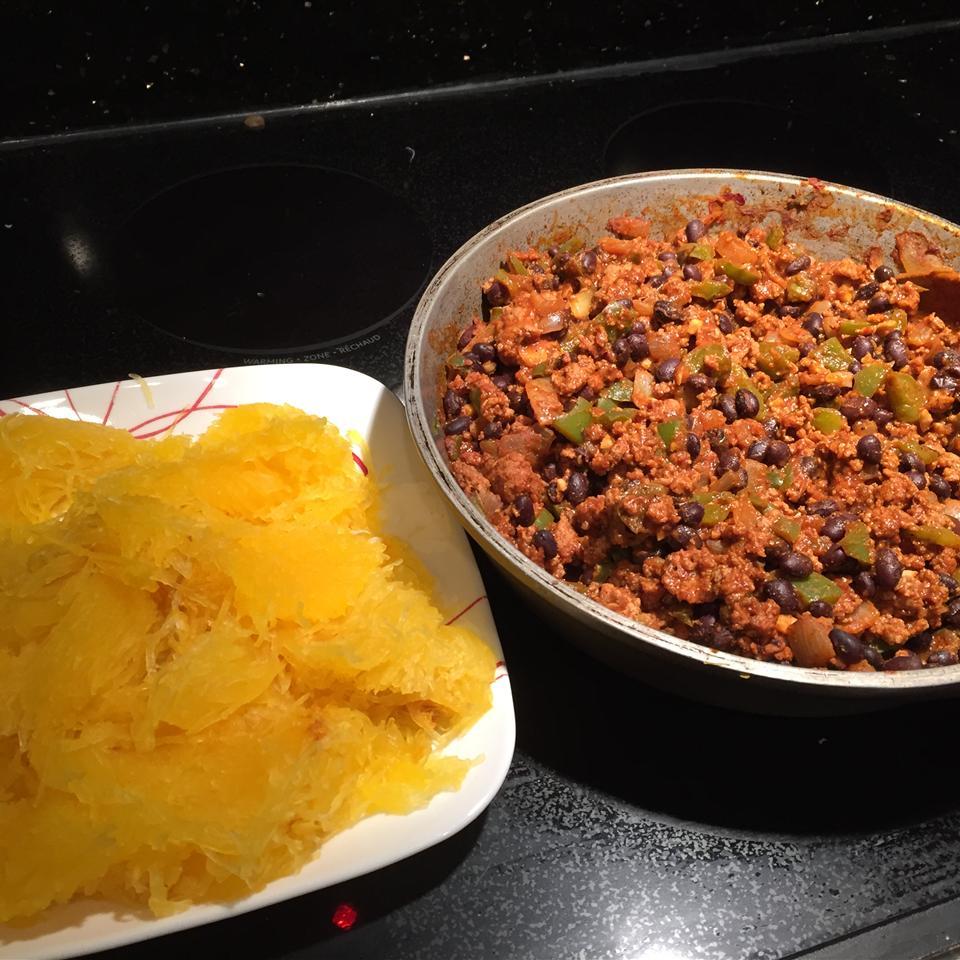 Mexican Spaghetti Squash Stir Fry CalgaryCooker