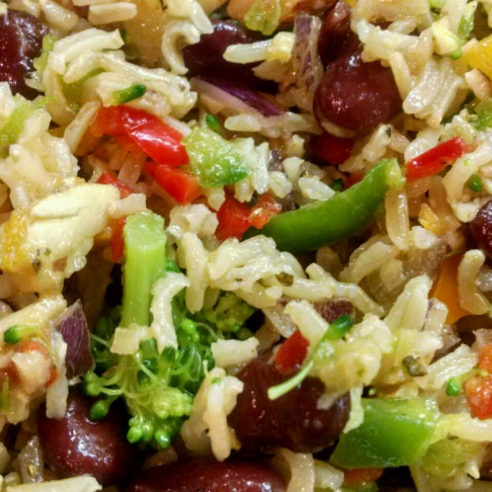 Nutty Brown Rice Salad Traci Waller
