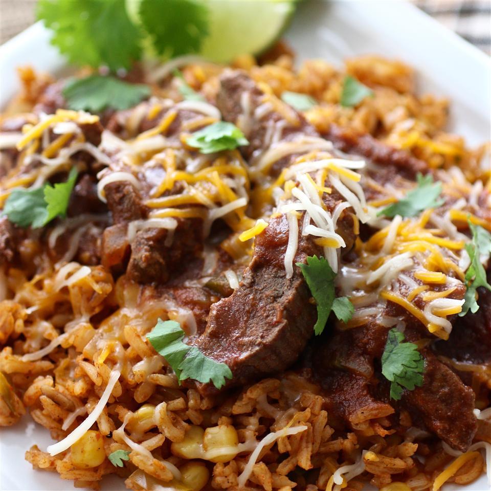 Fiesta Chili Beef and Rice