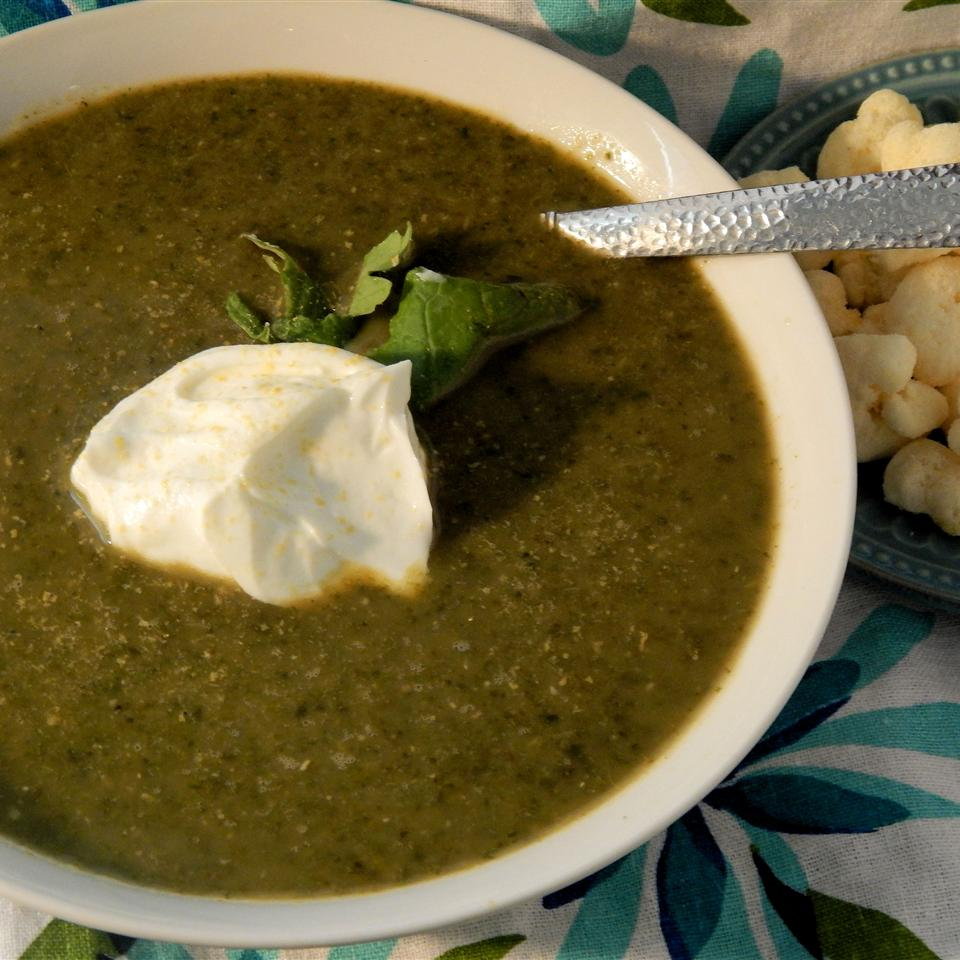 Green Vegan Stew