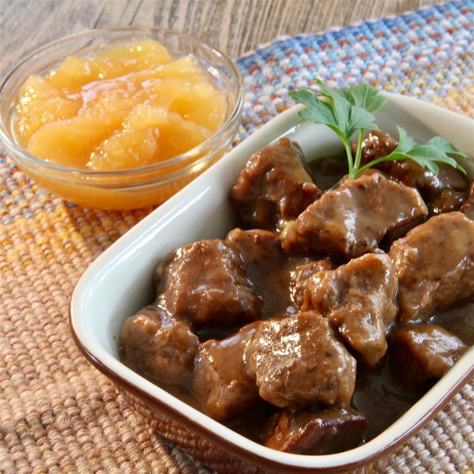Stew Beef Sauerbraten Edwina Hoffer
