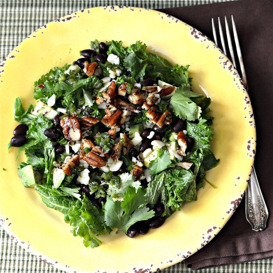 Kale, Avocado, and Black Bean Salad