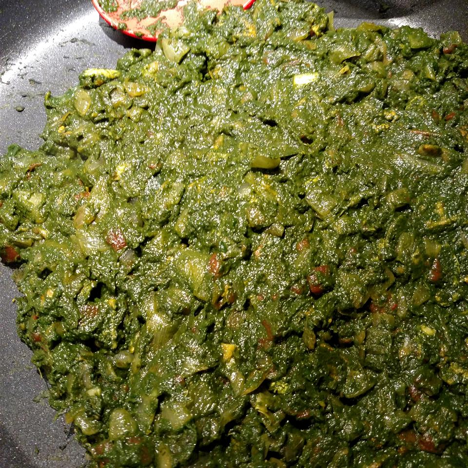 Chicken Saag Esther Weil