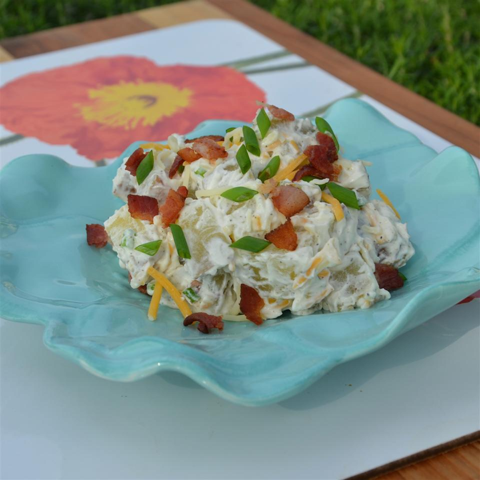 Loaded Baked Red Potato Salad