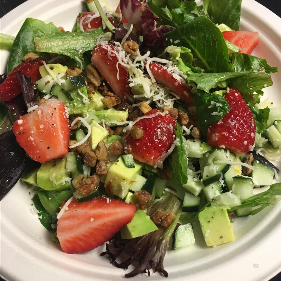 Strawberry Avocado Salad Anonymous