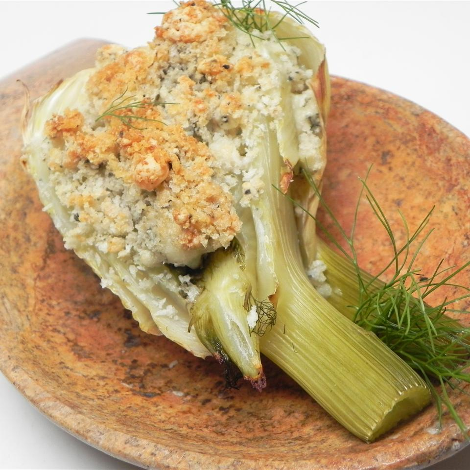 Baked Fennel with Gorgonzola Christine L.