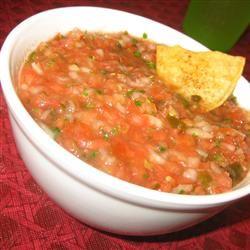 Fresh Tomato Salsa JARRIE