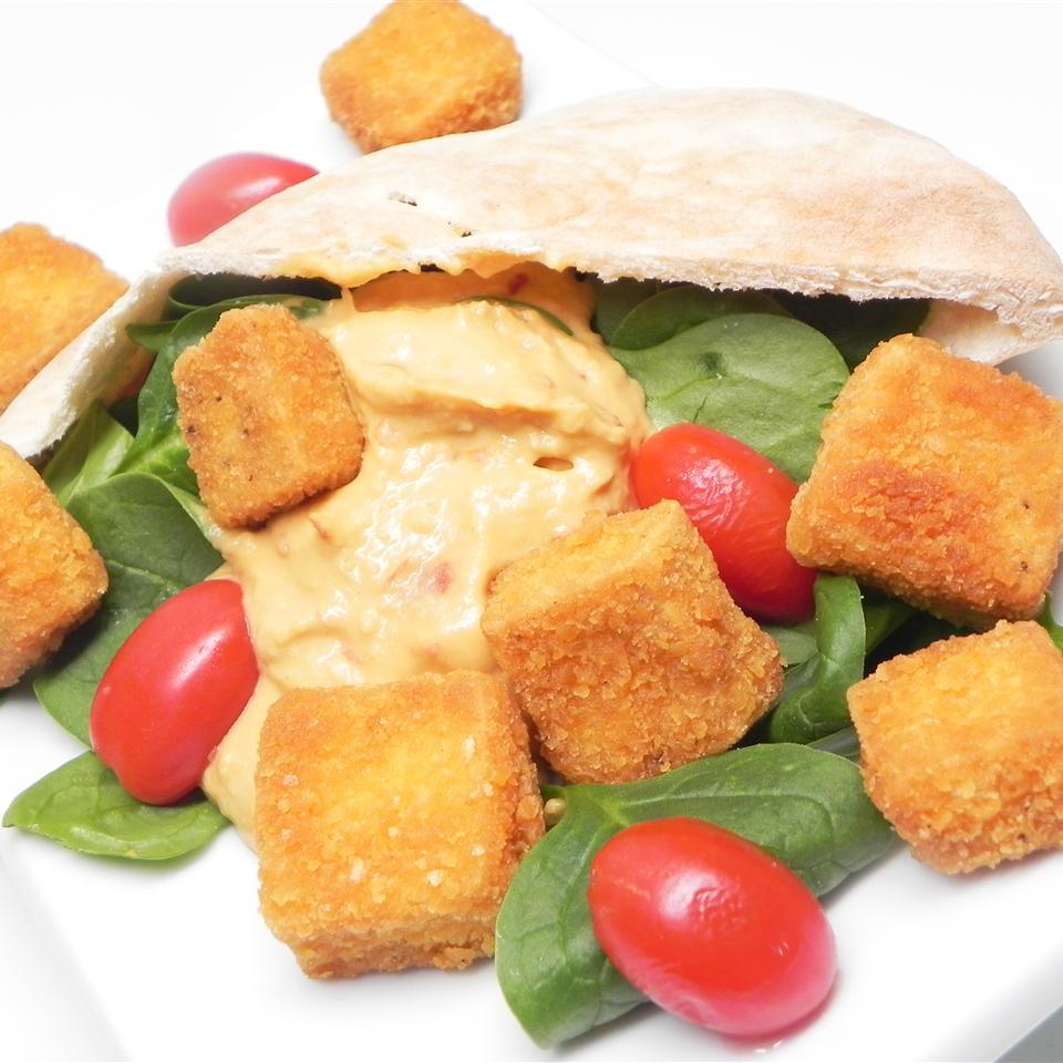 Cheez-It® Fried Tofu Pita Pocket