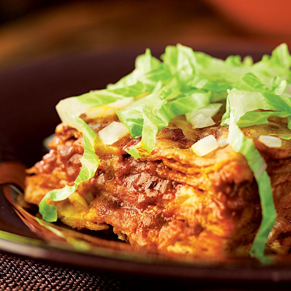Cheese Enchiladas with Red Chile Sauce Cheryl & Bill Jamison