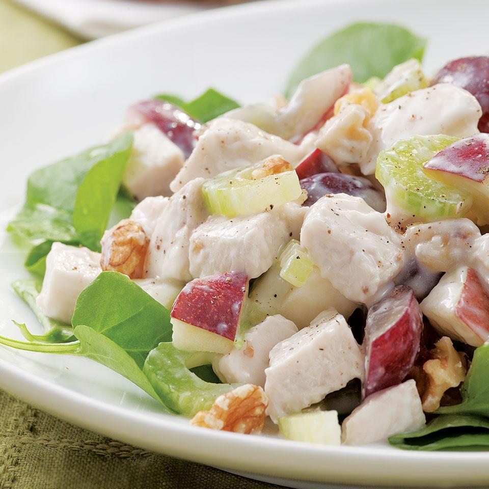 Chicken Waldorf Salad EatingWell Test Kitchen
