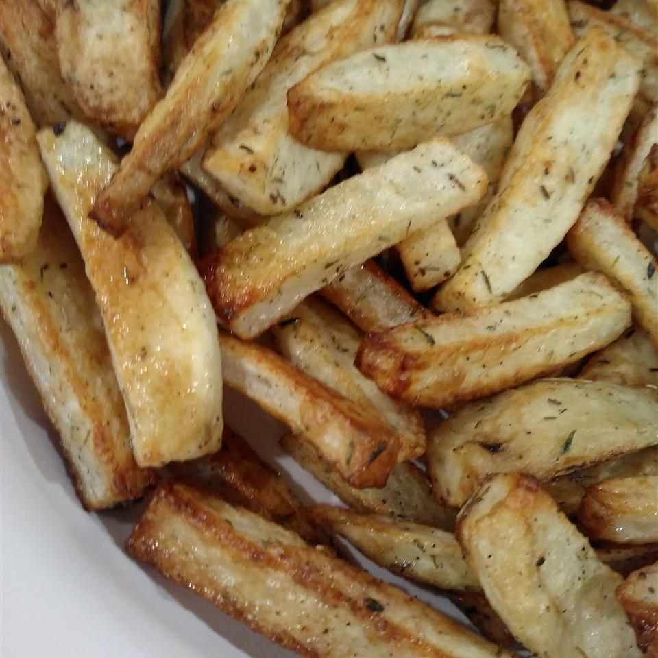 Oven-Baked Potato Fries