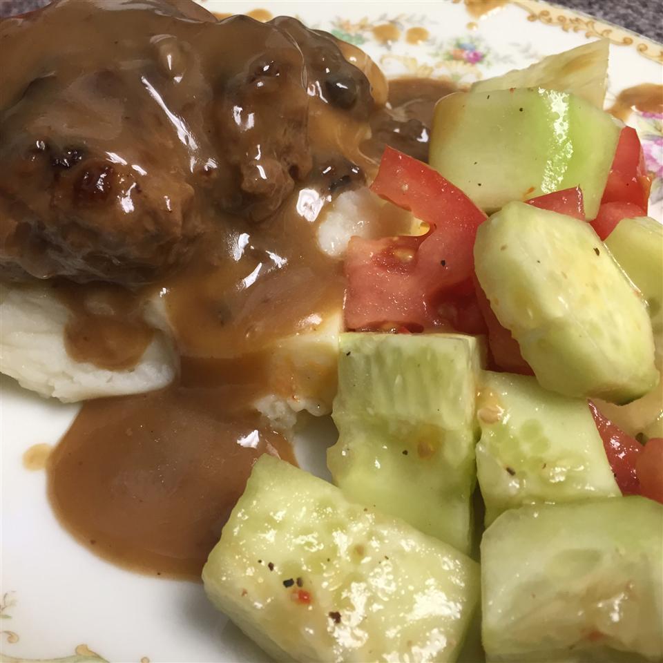 Slow Cooker Salisbury Steak melatoninmeow