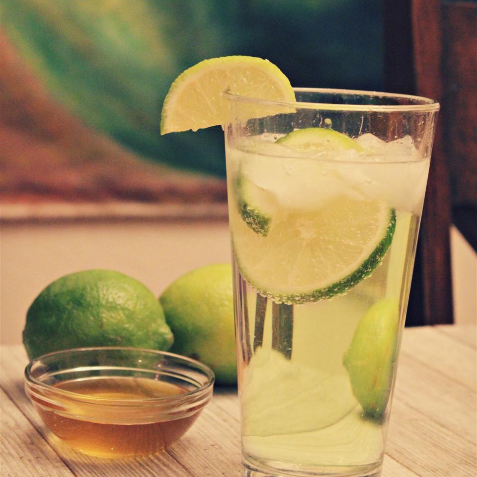 Lime Honey Soda