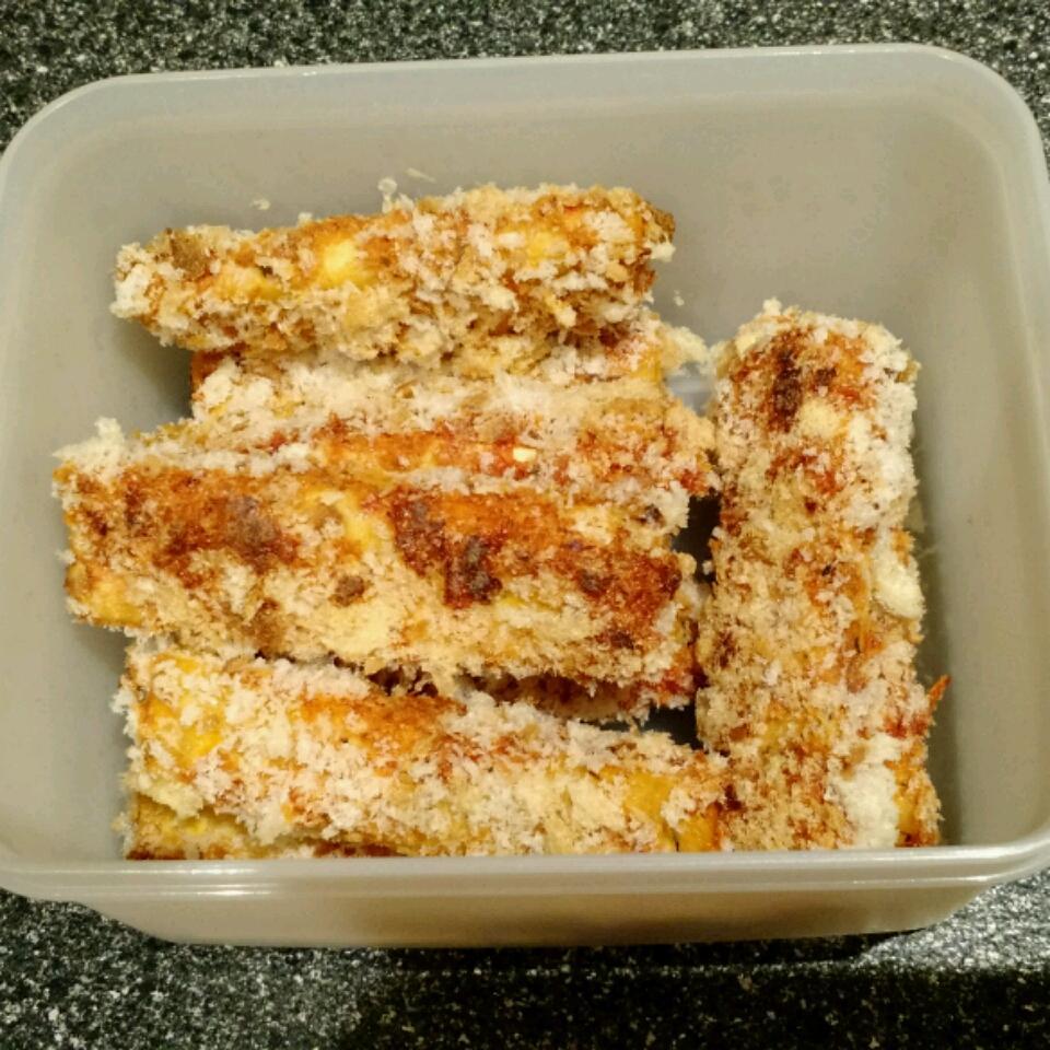 Vegan Breaded Tofu Olivier
